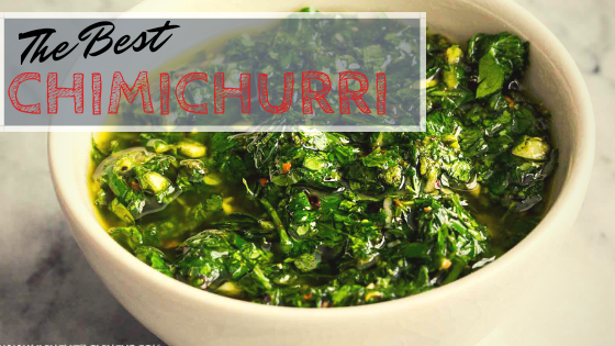 the best easy and fast chimichurri recipe
